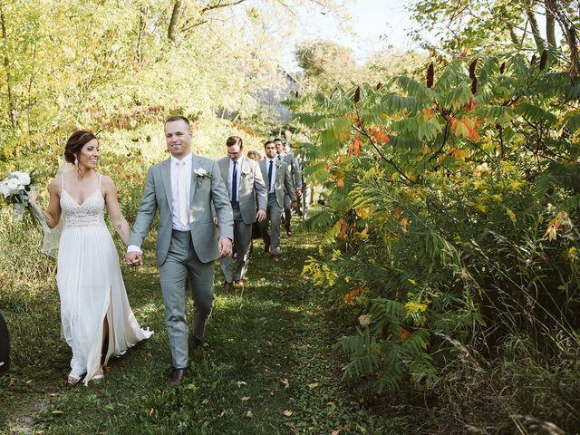 Derek and Cydnie's wedding in Cavan, Ontario 75