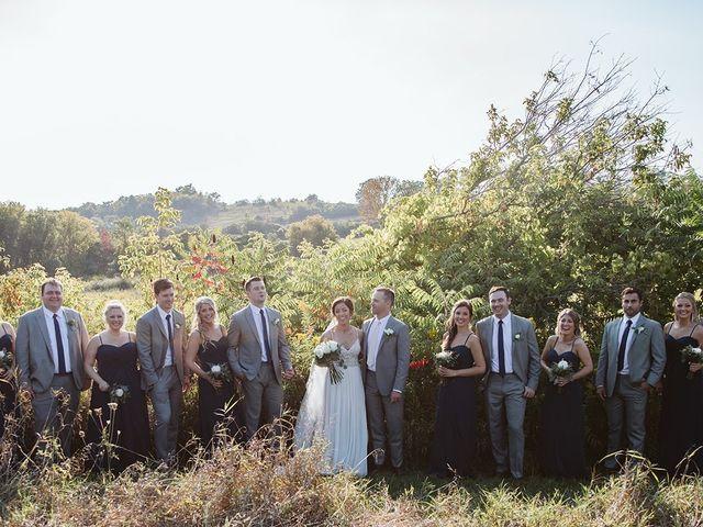 Derek and Cydnie's wedding in Cavan, Ontario 76