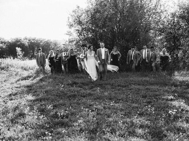 Derek and Cydnie's wedding in Cavan, Ontario 78