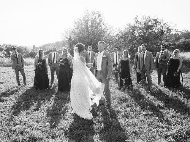 Derek and Cydnie's wedding in Cavan, Ontario 80
