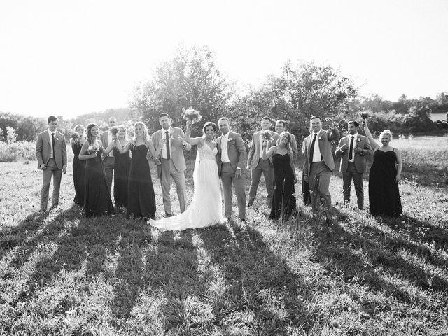 Derek and Cydnie's wedding in Cavan, Ontario 82