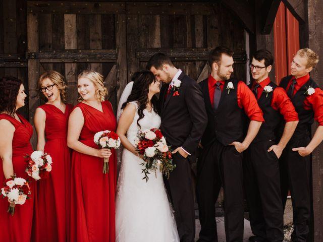 Shaunda and Josh's wedding in La Broquerie, Manitoba 11