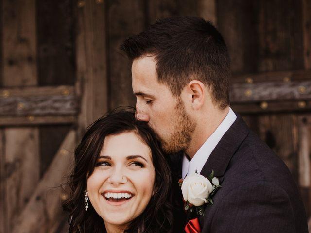 Shaunda and Josh's wedding in La Broquerie, Manitoba 2