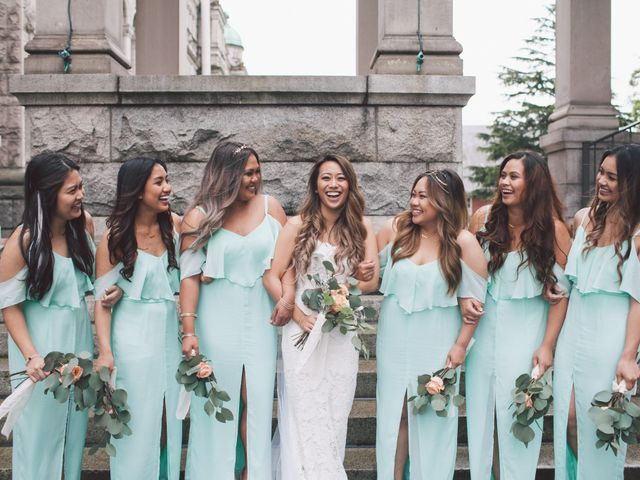 Juleonie Louise and Brent's wedding in Victoria, British Columbia 40