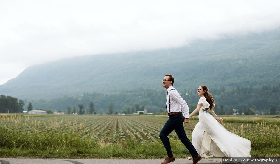 Josh and Taylor's wedding in Abbotsford, British Columbia
