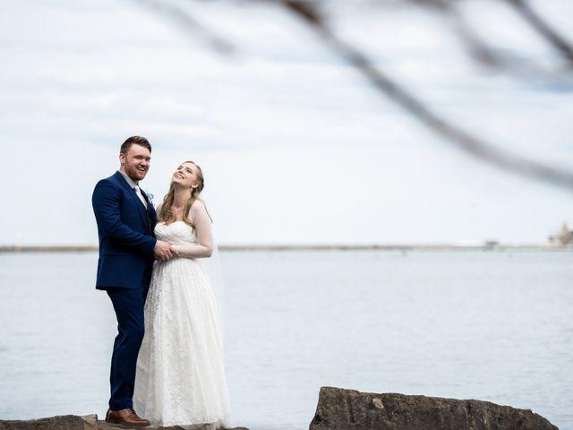 The wedding of Amanda and William