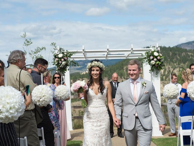 Justin and Megan's wedding in Kelowna, British Columbia 27