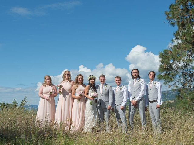 Justin and Megan's wedding in Kelowna, British Columbia 30