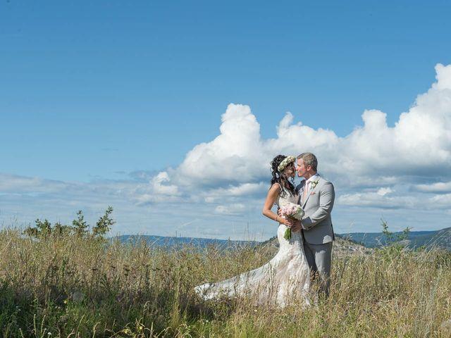 Justin and Megan's wedding in Kelowna, British Columbia 1