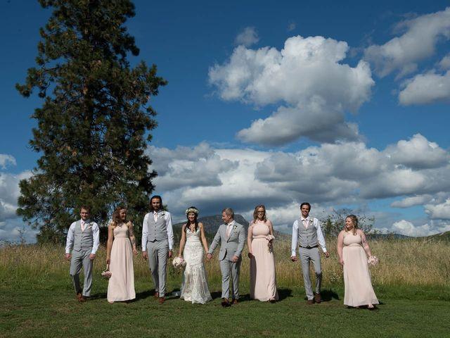 Justin and Megan's wedding in Kelowna, British Columbia 36