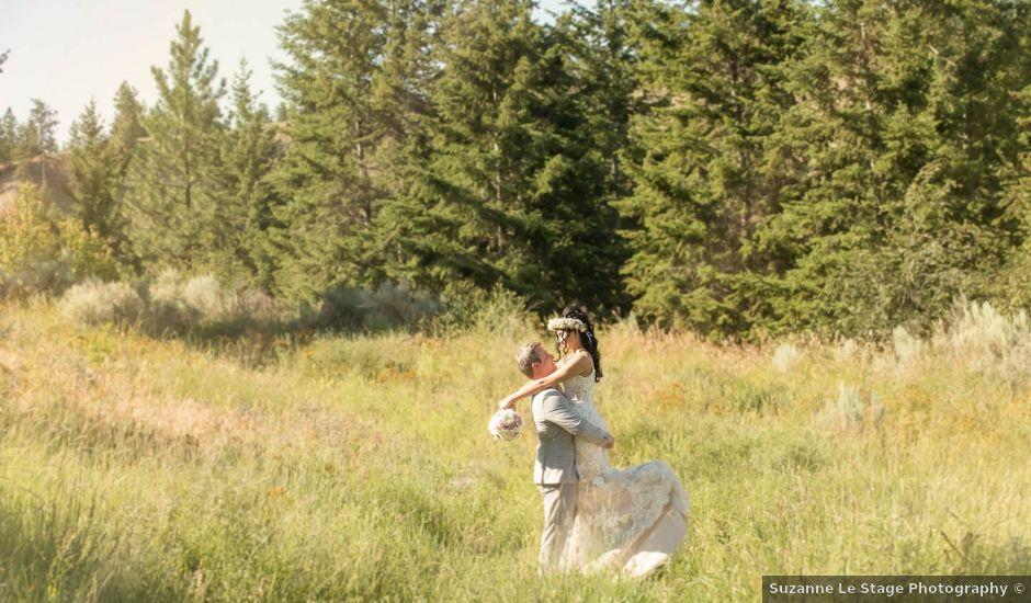Justin and Megan's wedding in Kelowna, British Columbia