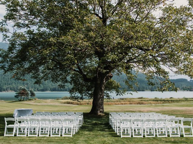 Vanessa and Courtney's wedding in Harrison Mills, British Columbia 6
