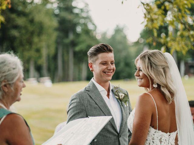 Vanessa and Courtney's wedding in Harrison Mills, British Columbia 12