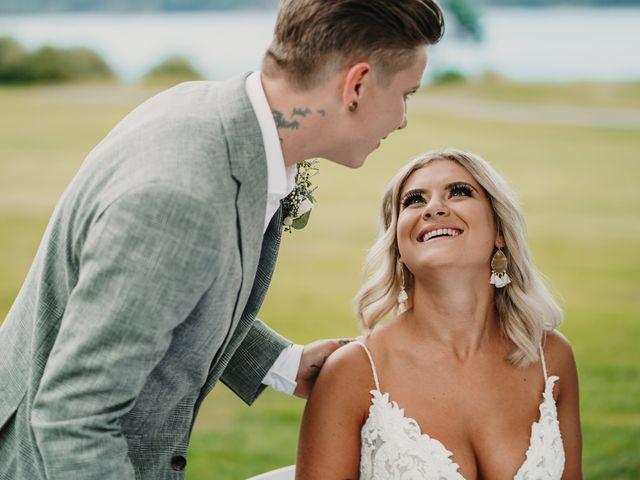 Vanessa and Courtney's wedding in Harrison Mills, British Columbia 14