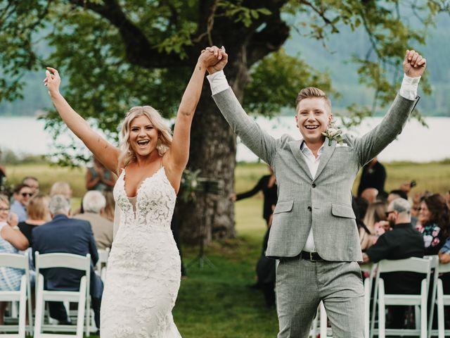Vanessa and Courtney's wedding in Harrison Mills, British Columbia 15