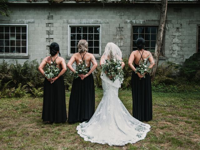 Vanessa and Courtney's wedding in Harrison Mills, British Columbia 17