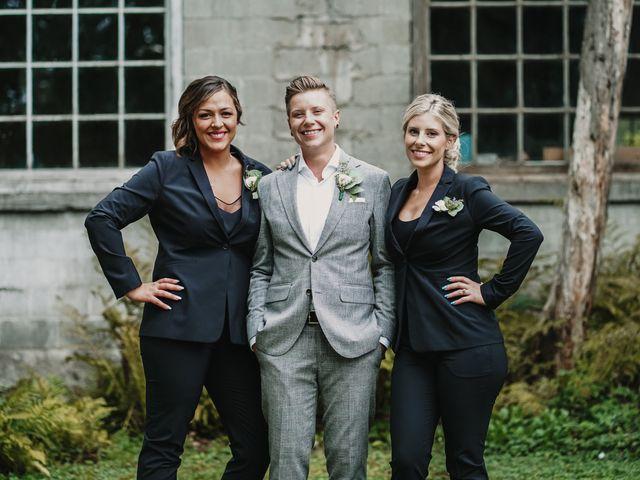 Vanessa and Courtney's wedding in Harrison Mills, British Columbia 18