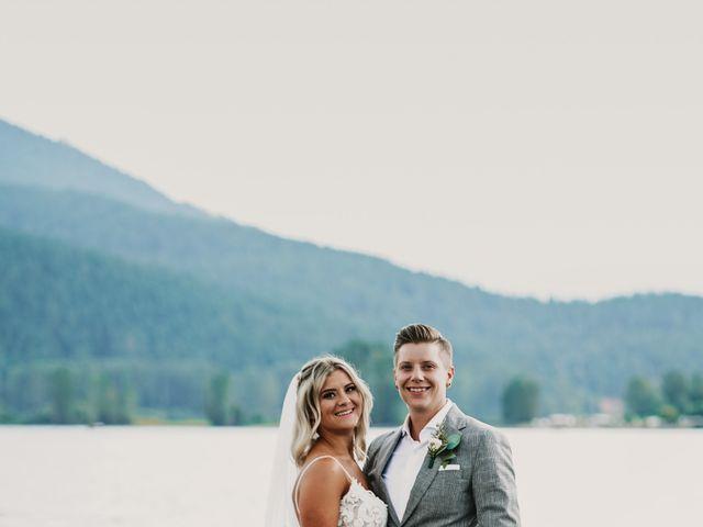 Vanessa and Courtney's wedding in Harrison Mills, British Columbia 19