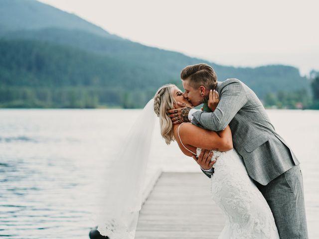 Vanessa and Courtney's wedding in Harrison Mills, British Columbia 22