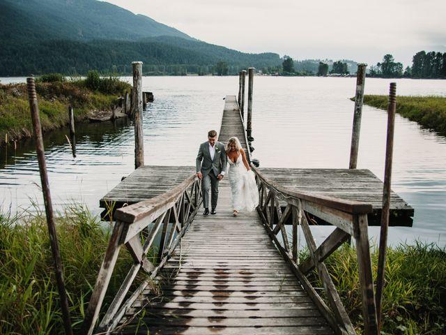 Vanessa and Courtney's wedding in Harrison Mills, British Columbia 24