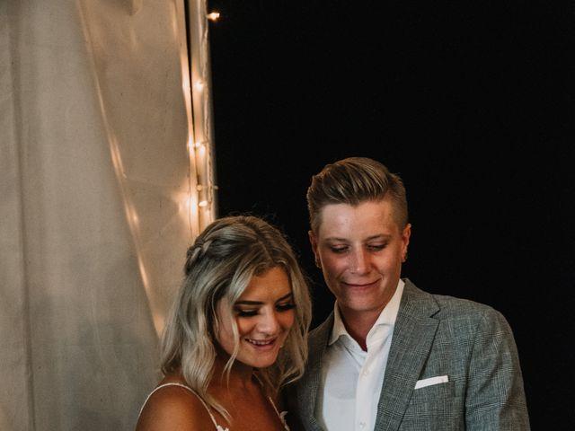 Vanessa and Courtney's wedding in Harrison Mills, British Columbia 29