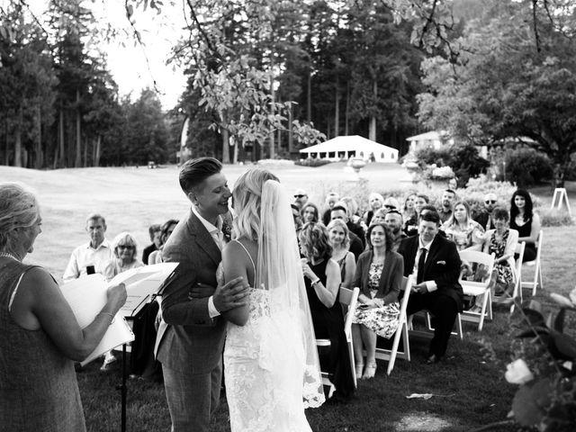Vanessa and Courtney's wedding in Harrison Mills, British Columbia 38