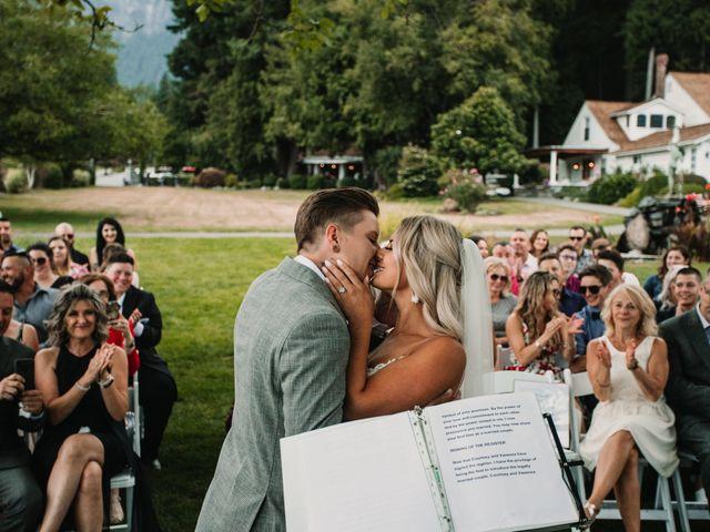 Vanessa and Courtney's wedding in Harrison Mills, British Columbia 39