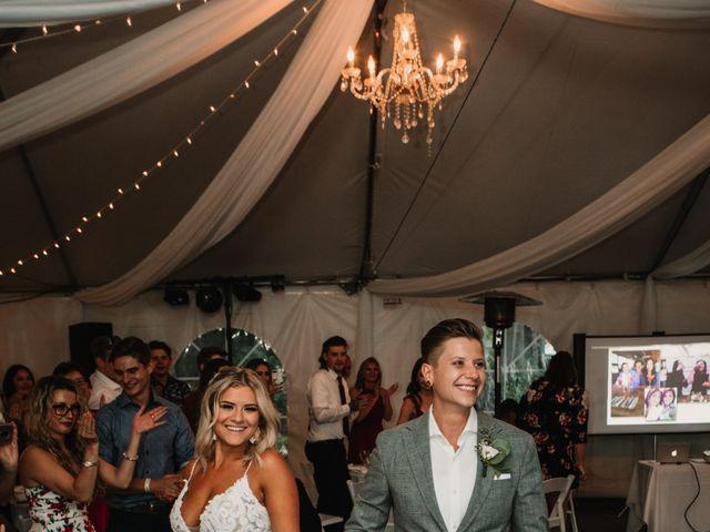 Vanessa and Courtney's wedding in Harrison Mills, British Columbia 44