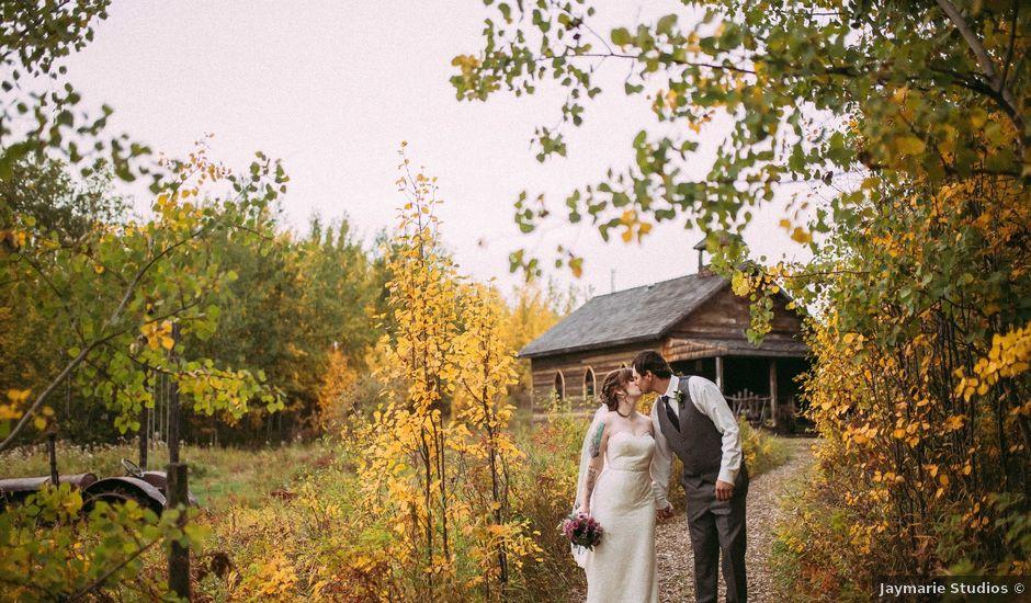 George And Jackie's Wedding In Sherwood Park, Alberta