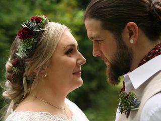 The wedding of Ottavia and Jared