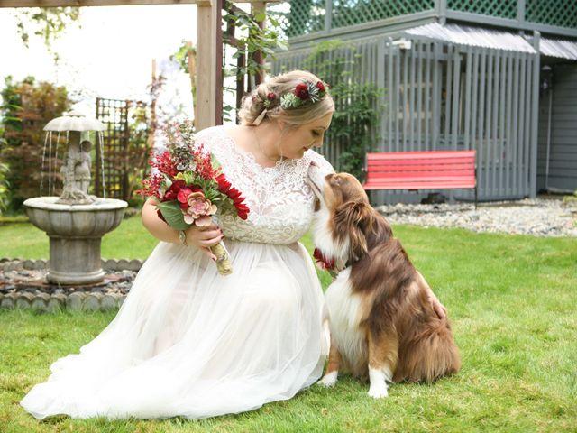 Jared and Ottavia's wedding in Mission, British Columbia 1