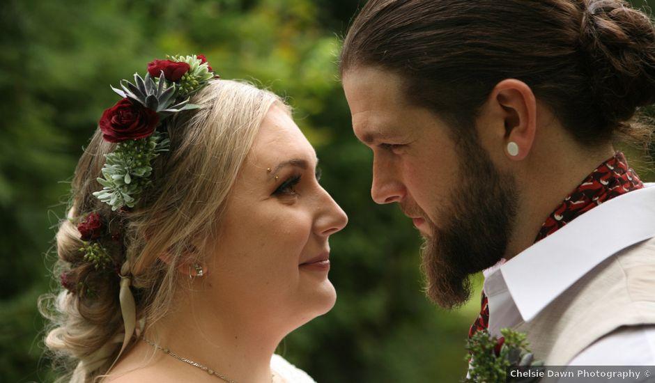 Jared and Ottavia's wedding in Mission, British Columbia