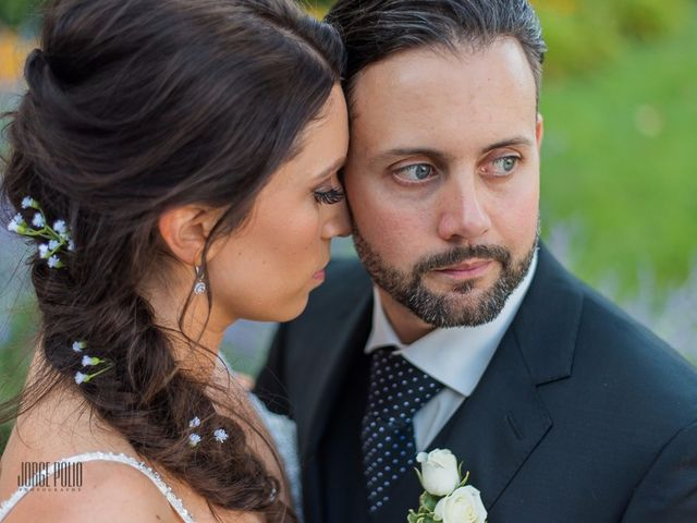 The wedding of Siobhan and Matt