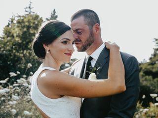 The wedding of Nichole and Chris