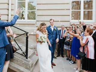 The wedding of Perrine and Guillaume