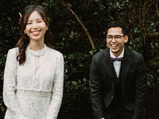 The wedding of Jin and Joo