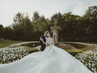 The wedding of Crystal and Chen
