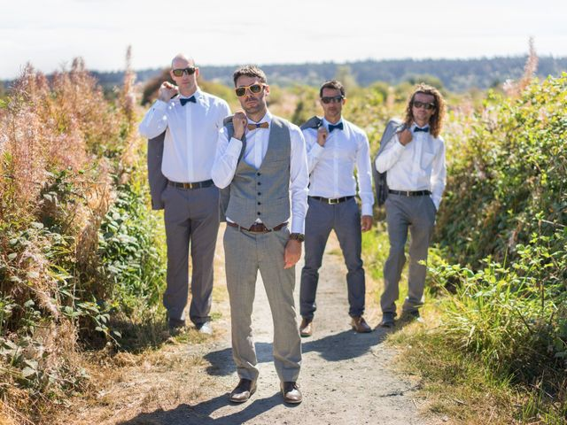 Shaun and Brittany's wedding in Delta, British Columbia 2