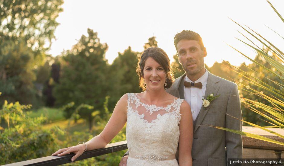 Shaun and Brittany's wedding in Delta, British Columbia