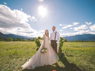 The wedding of Caleigh and Evan