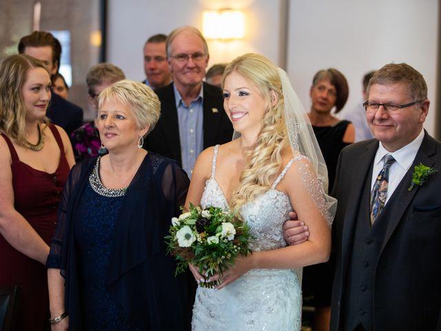 Emily and James's wedding in Calgary, Alberta 9