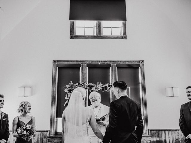Emily and James's wedding in Calgary, Alberta 12