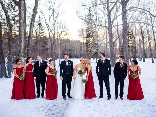 Emily and James's wedding in Calgary, Alberta 14