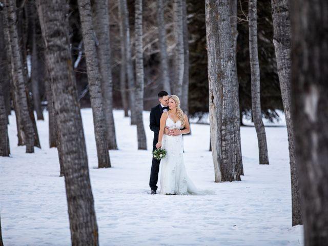 Emily and James's wedding in Calgary, Alberta 16