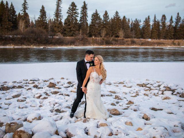 Emily and James's wedding in Calgary, Alberta 17