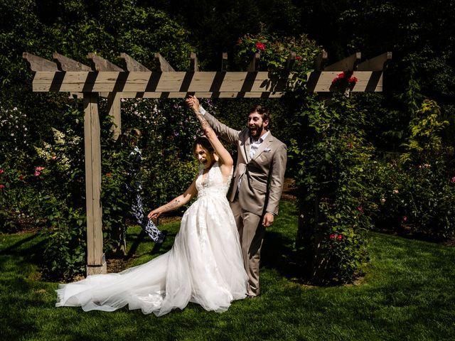 Michael and Madra's wedding in Penticton, British Columbia 1