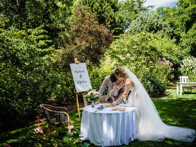 Michael and Madra's wedding in Penticton, British Columbia 42