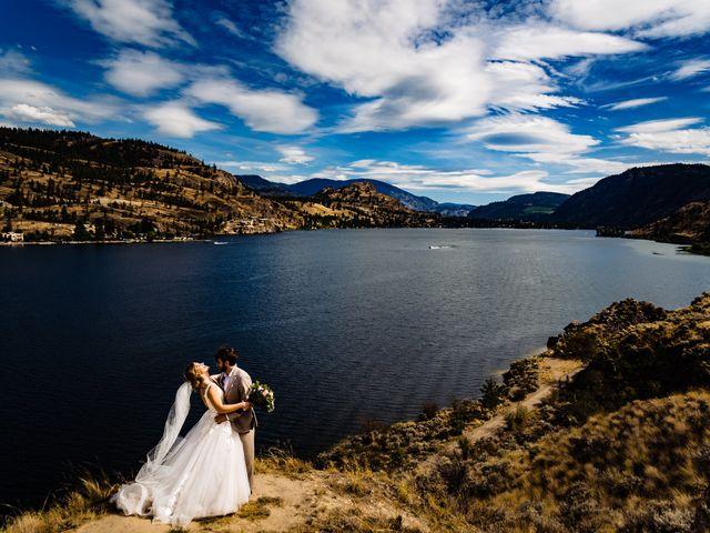 Michael and Madra's wedding in Penticton, British Columbia 2