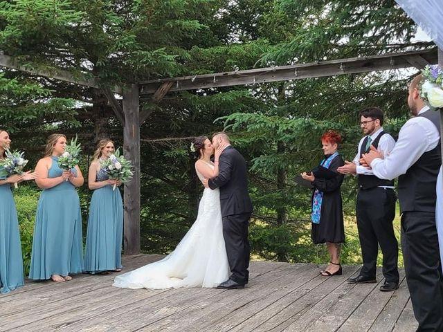 Matt and Sam's wedding in Evandale, New Brunswick 1