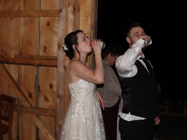 Matt and Sam's wedding in Evandale, New Brunswick 2